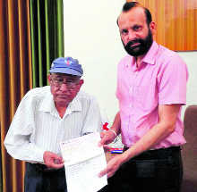 NRI donates Rs 1.22 cr to Red Cross