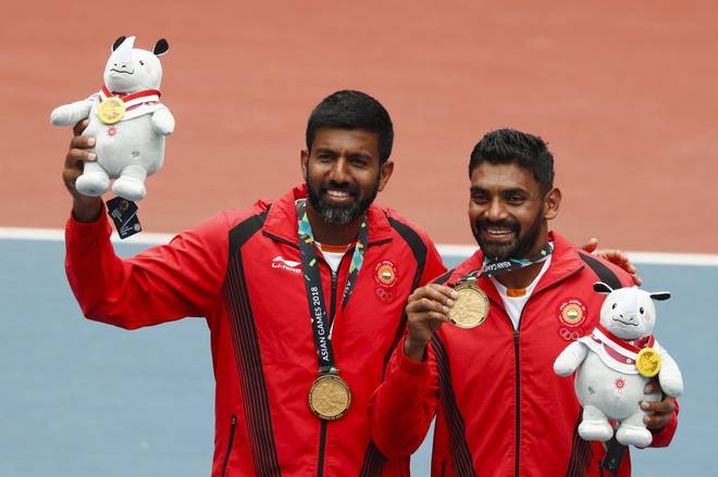 Asian Games 2018: Bopanna, Sharan win tennis maiden doubles gold