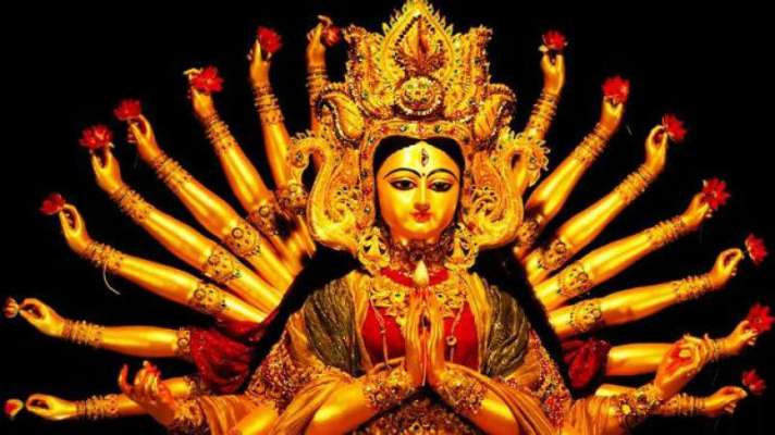 Why worship of Goddess Durga is done only at night?
