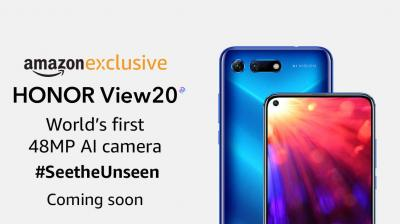 Honor View20 to be sold as an Amazon exclusive