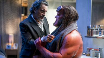 Ian McShane and David Harbour share great chemistry in 'Hellboy'