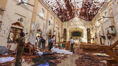 Sri Lanka names local group behind terror attacks, suspects int'l network